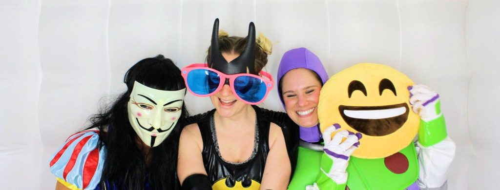 photobooth hire super heros